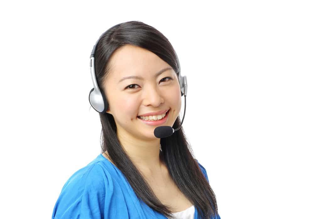 日本語サポートも毎日対応