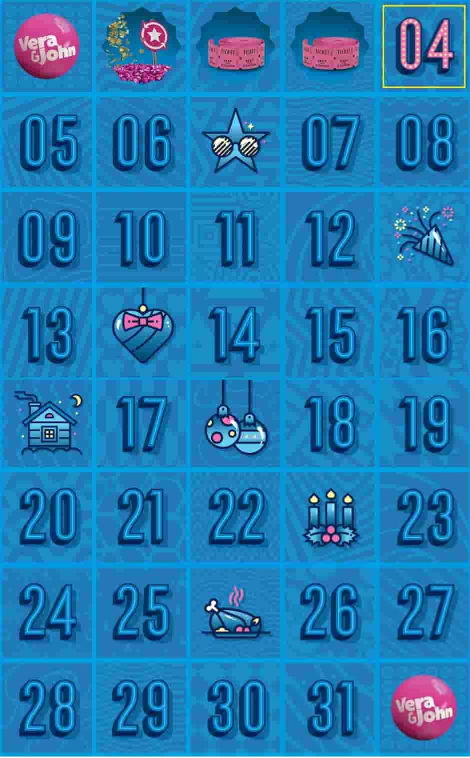 ベラクリギフトカレンダー